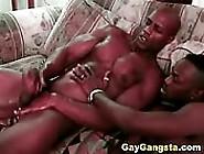 Two Black Man Fucking And Masturbating