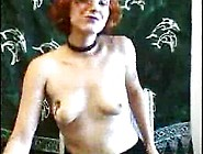 Redhead Stripping With Full Bush