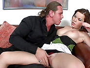 Tarzan Is Fucking With Brunette Perry Yasmine