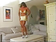Big Sexy Fbb Denise Hoshor Shows Her Biceps
