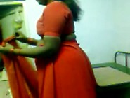 Desi Mature Aunty In Red Saree Fuking Wid Lover Xhamster. Com