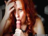 Blowjob Utopia - Red-Haired Milf Puts Her Blowing Skills To Work