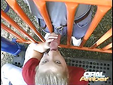 Oral Amber Playground Blowjob