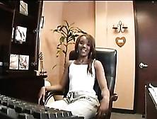 Hot Black Teen Kapri Styles Gets Banged At The Office