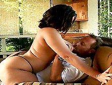 Fantastic Angelina Castro Rides Like A Desperate Cowgirl