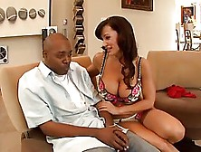 Lisa Ann Invited Her Black Colleague From Work To Her Place To H