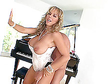 Alluring Blonde With Huge Tits Called Amber Having Hardcore Sex