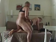 Long Legged Hottie Fucks Her Man