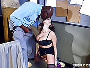Bald Black Guy Wanted To Dip His Hard Meat Stick Into Ariella Fe