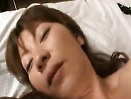 Horny Asian Wife Gets Her Hairy Beaver Fingered And Fucked