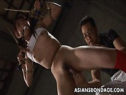 Dreamy Asian Chick Fucked With A Fat Dildo