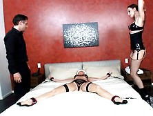 Evil Angel - Wife Bound For Surprise Anal Threesome