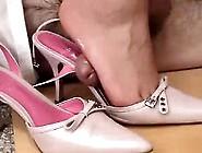 Cum Inside My Pink Heels By Mistress Butterfly