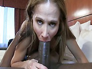 Bbc-Loving Milf Fucks A Black Cock For A Creampie