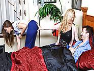 Cherie Deville & Dani Daniels & James Deen In Enfermere Traviesa