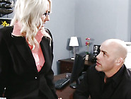Stunning Blonde Emma Starr Gets Pounded At Work