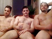 2 Fellas And A Friend Cum On His Ass (1St Time)