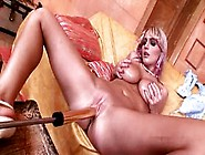 Big Tits Jannete Gets Fucked By A Machine