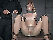 Small Titted Blonde Bitch With Great Rack Is Bounded On Torture