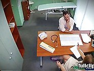Hidden Cam Doctor Fucks A Patient On An Office Desk