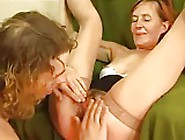 Hairy Redhead Granny Fucked By Young Guy