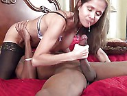 Hot Wife Rio Takes On The Big Black Bandit