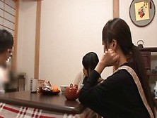 Japanese Lady Is Getting Her Wet Pussy Rubbed Under The Table Du