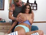 Tattooed Massage Therapist Spanks A Hot Brunette Video