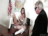 Sexy Student Seduces Old Teacher @ Fornication 101 - 2Nd Semeste