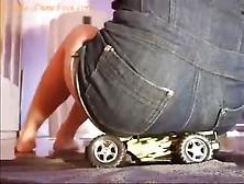 Butt Crush Toy Car