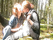 Cute Russian Girl In The Woods Is Blowing And Fucking Her Boyfri