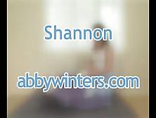 Abby Winters Shannon Dildo Masturbate Interwiew