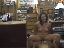 Sexy Housewife Pounded At The Pawnshop