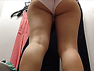 Beautiful Plump White Ass In The Changing Room On Hidden Cam