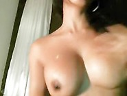Tina Shows Her Big Tits On Webcam