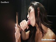 Hot Little Latina Swallows Lots Of Cum