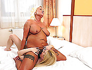 Hot Granny Gets Fingered And Licked In Mature Lesbian Shoot