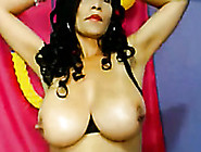 Curly Alluring Amateur Latina Babe Showing Off Her Sexy Big Tits