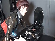 Madame C Plays With Rubber Doll Angelicbella's Cock & Ass
