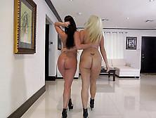 Sensual Home Lesbian Xxx Scenes With Amazing Porn Girls Layla Pr