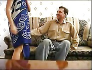 Dad Seduces Step-Daughter On The Couch - 60 Min