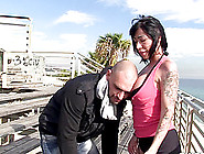 Suhaila Hard Spreads So That We See How Her Shaved Cunt Is Being