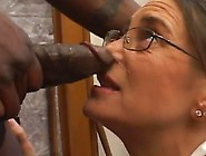 Long-Haired Milf Has Brutally Face-Fucked By The Darky Stud Indo