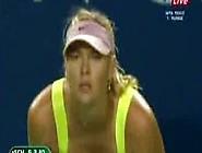 Maria Sharapova Downblouse In Tokyo