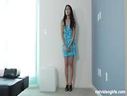 Pretty Shy Asian Calendar Girl Audition (Hd) New!