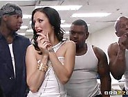 Hailey Young Takes On A Group Of Horny Inmates