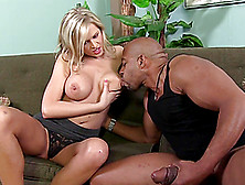 Sweet Darcy Tyler Goes Really Hardcore With A Black Guy