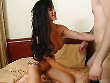 Mrs.  Jewels Fucks Her Step-Son