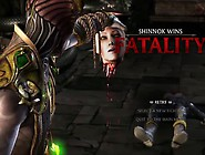 Mortal Kombat X - All Fatalities On Cassie Cage