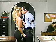 Feverish Policeman Eats Smelly Kitty Of His Light Haired Wanton